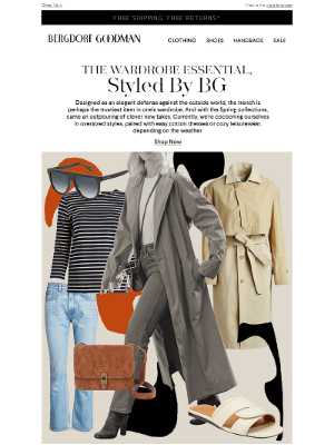 The Trench Coat, Styled By BG