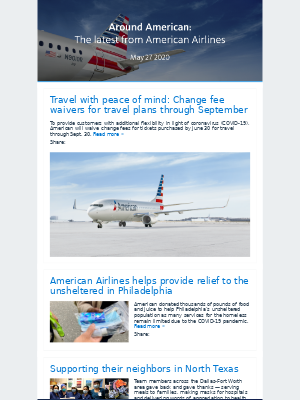 Around American: The latest from American Airlines