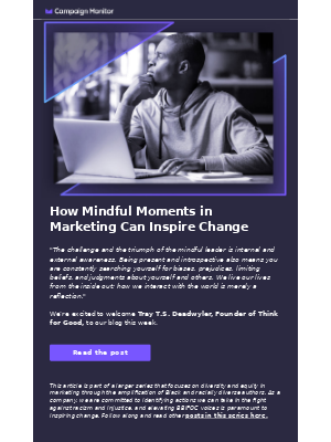 Diversity series: Mindful marketing moments