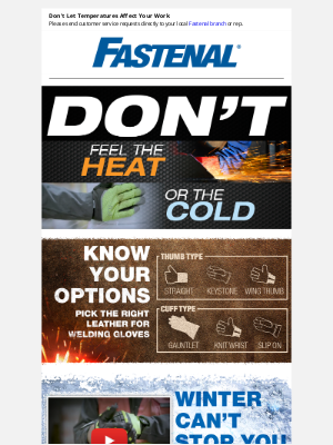 Fastenal - Fight The Highs and Lows