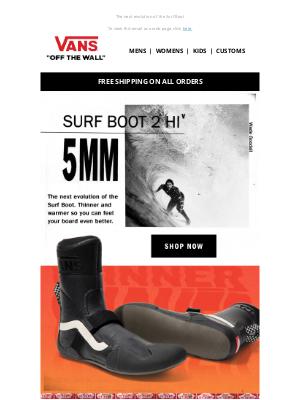 Vans - Surf Boot 2 HI