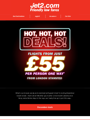 Jet2 (UK) - ✈ Did someone say 'hot, hot, hot deals?'