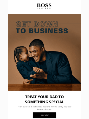 HUGO BOSS - Get Down To Business