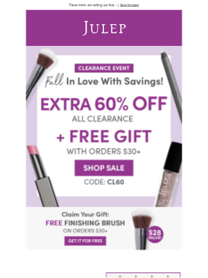 Julep - 👇🏻 We're marking down our markdowns