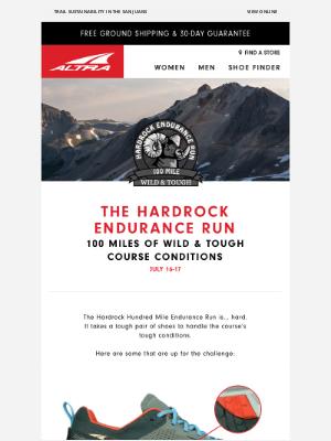 Altra Running - Hardrock 100: Wild & Tough