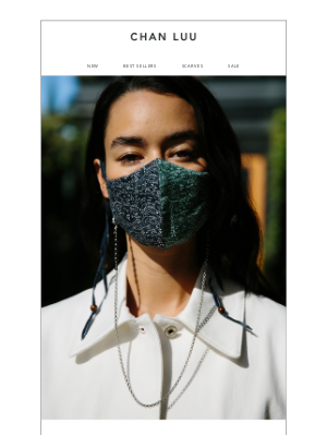 chanluu.com - Spring Face Masks Are Here