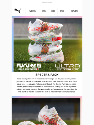PUMA (UK) - INTRODUCING THE SPECTRA PACK