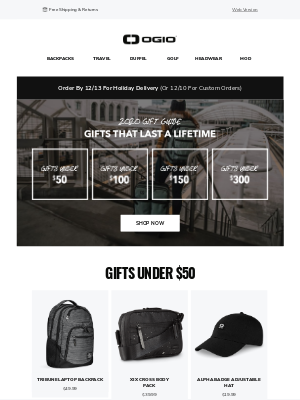 Ogio - Shop Greats Gifts | Check Out The 2020 Gift Guide!