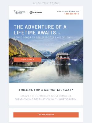 Paul Gauguin Cruises - BOGO 50% Off One-of-a-Kind Hurtigruten Expeditions!