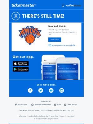 New York Knicks: 1 Day Left To Buy Tickets!