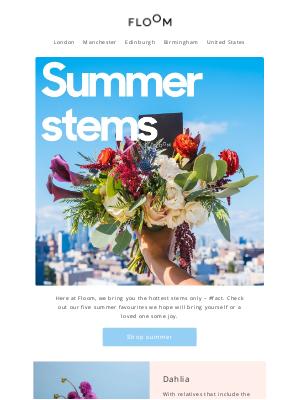 FLOOM - Hot stem summer 🌻
