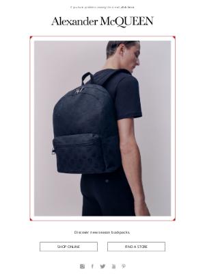 Alexander McQueen - New Season Backpacks