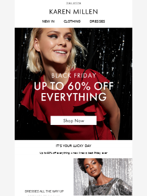 EVERYTHING up to 60% off