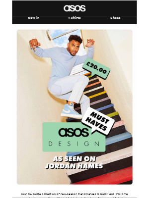 ASOS (UK) - Your new must-haves are here 💯