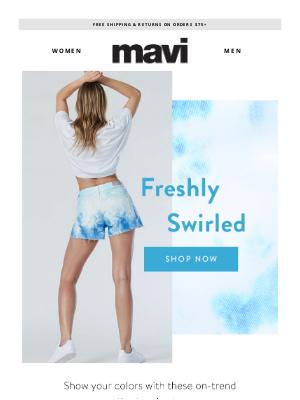 Mavi - New Shorts Tie Dye For!