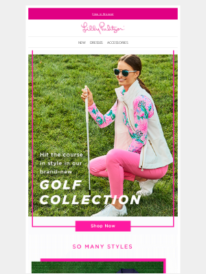 Lilly Pulitzer - Game on