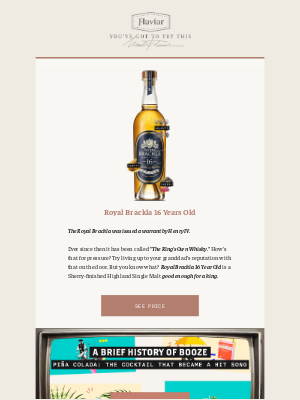 Flaviar - In need of some royal treatment? Try this 16YO Single Malt