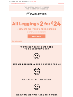 Fabletics - FWD: Oops, you almost missed this!