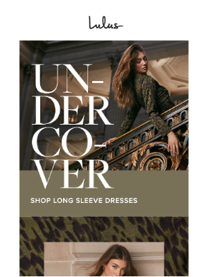 Long Sleeve Dresses | Seriously Stunning