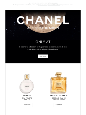 Chanel (UK) - Looking for an extraordinary gift?