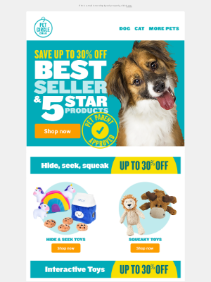 SALE 🌟Up to 30% off Pet Parent Approved Products 🐶