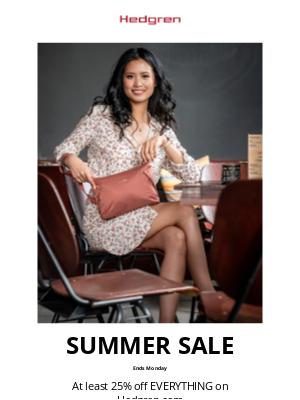 Hedgren - Final Weekend of our Summer Sale