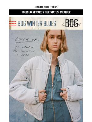 Urban Outfitters - the new BDG collection is 💙🌀💎❄️👖