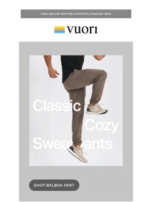 Vuori - Your classic sweatpants redefined