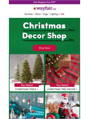 Wayfair (CA) - *Sale* CHRISTMAS DECOR *Sale*
