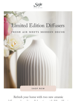 New, modern diffusers