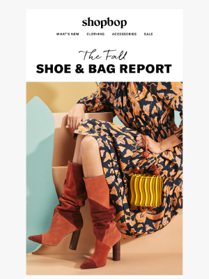 Shoes & bags that make the outfit