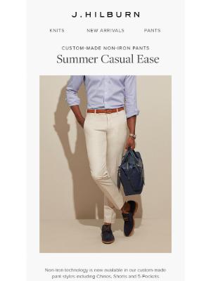 J.Hilburn - Summer Casual Ease is Here