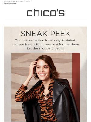 Chico's - Be the first to see our new fall styles