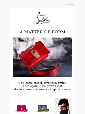 Christian Louboutin - One, two, three's a charm