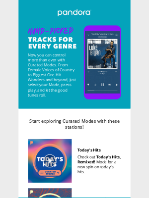 Pandora Radio - More Modes for every mood