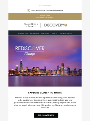 Omni Hotels & Resorts - Recapture your love for exploring!
