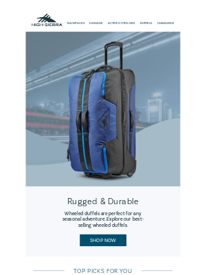 Extra 20% Off Clearance Duffels