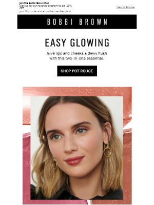 Bobbi Brown Cosmetics - The use-it-anywhere color.