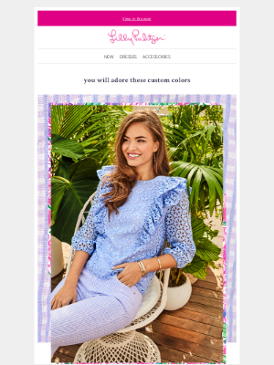 Lilly Pulitzer - Pull off purple, the Lilly way