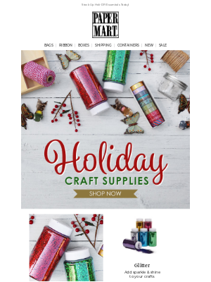 Paper Mart - Shop Craft Supplies For The Holiday Season & More!
