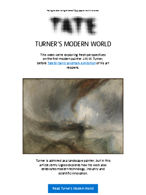 Tate (UK) - 🌈 Who is J.M.W. Turner?