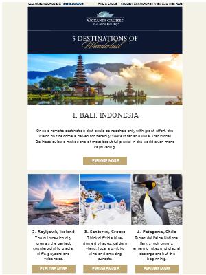 5 Destinations of Wanderlust from Around the World 🌎