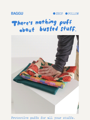 BAGGU - New puff for your stuff.