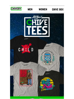 The Chivery - NEW Chive Tees
