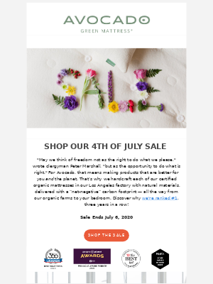 Save $200 on Handcrafted Organic Mattresses & More! 🌻