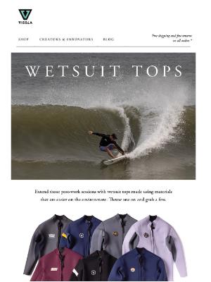 VISSLA - Wetsuit Tops