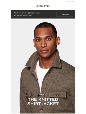 Suitsupply - The New Knitted Shirt Jacket