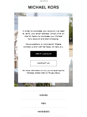 Double opt-in email template example