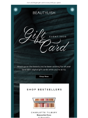 The Gift Card Event STARTS NOW! ⏰
