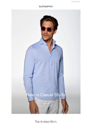Suitsupply - New In: Casual Shirts